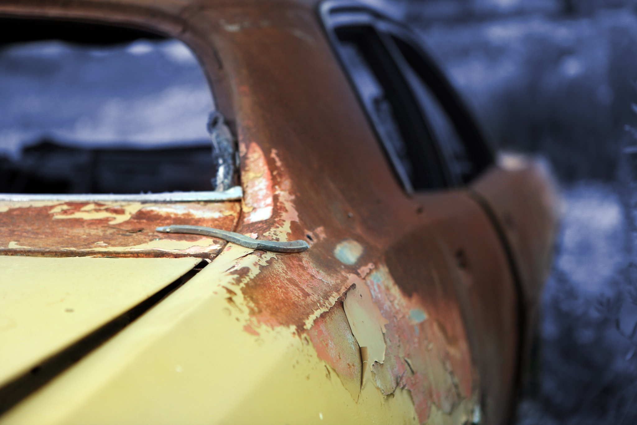 Rust on cars
