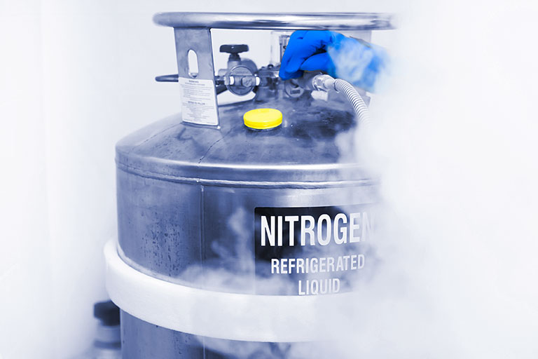 Historically, nitrogen gas was the most common choice for gas adsorption studies.