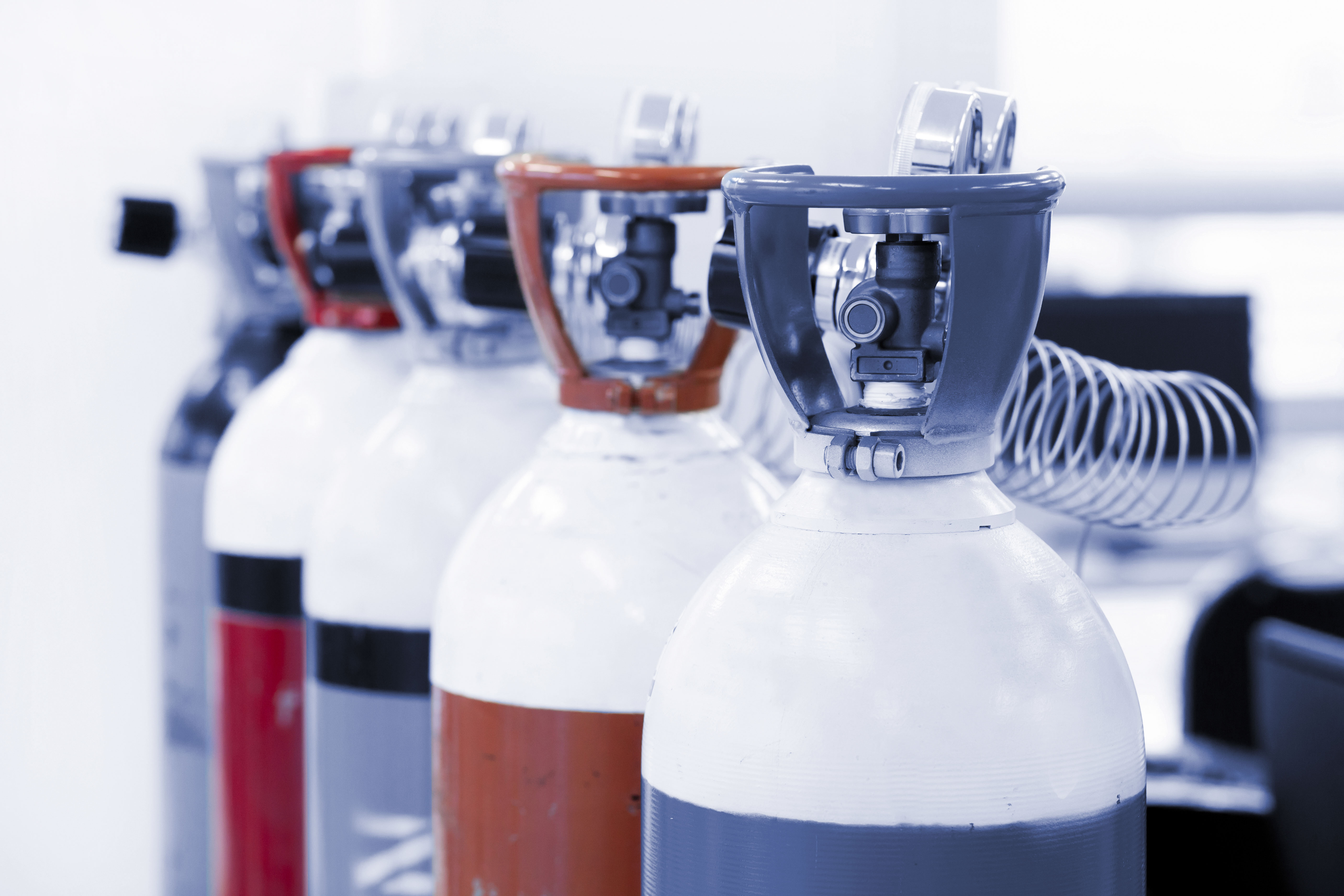 Different adsorption gases are employed for different applications.