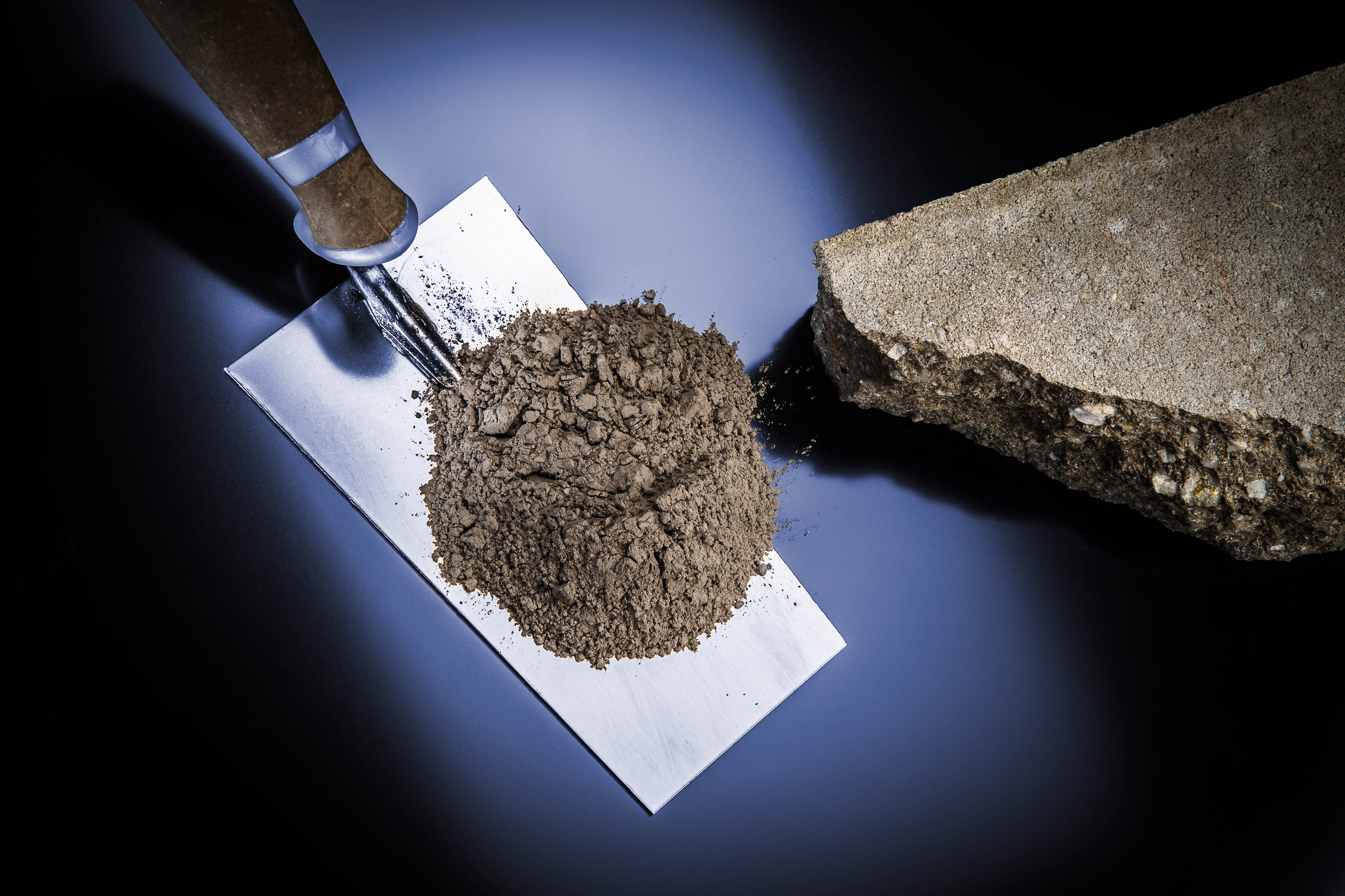 Figure 3: Particle size measurements of concrete require a robust instrument that is easy to clean.