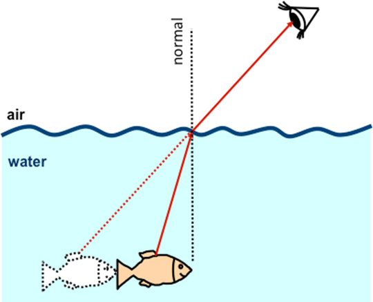 Image result for light refraction