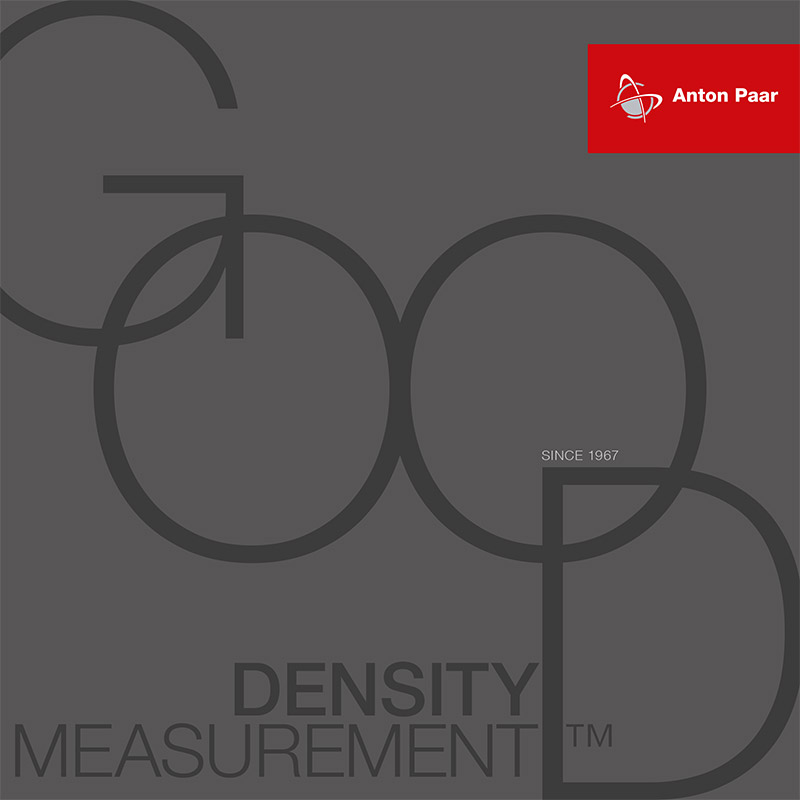 Good density measurement